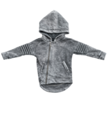 Minikid GREY HOODIE FOR CHILDREN | COOL HOODED CARDIGAN | KIDS STREETWEAR | MINIKID
