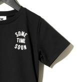 Sometime Soon Official BLACK STATEMENT T-SHIRT| STREETWEAR KIDSWEAR | SOMETIME SOON