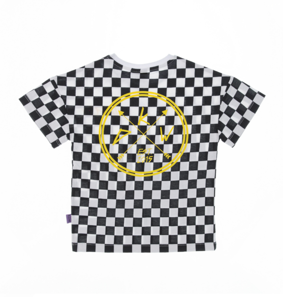 Kiddow OVERSIZED T-SHIRT CHECKERED