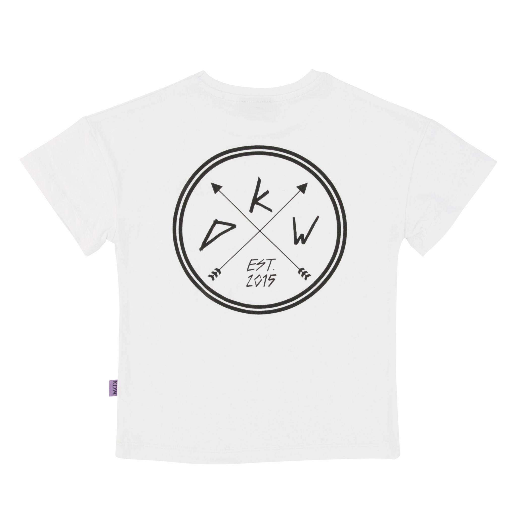 Kiddow OVERSIZED WHITE T-SHIRT | COOL SHIRT FOR CHILDREN | CHILDREN'S CLOTHING