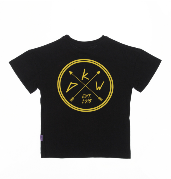 Kiddow OVERSIZED T-SHIRT BLACK