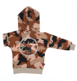 Kiddow OVERSIZED HOODIE IN CAMO PRINT | COOL HOODED SWEATER FOR KIDS