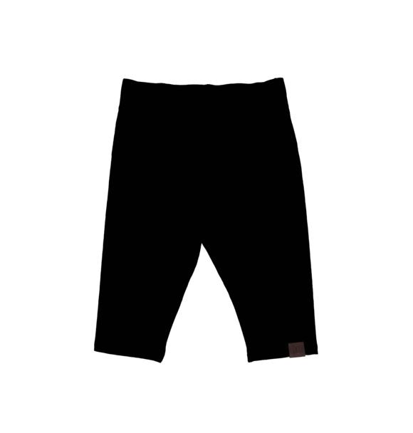 Kiddow BLACK SHORT LEGGINGS