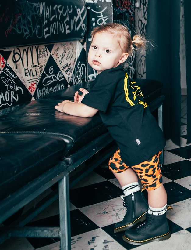 Kiddow SHORT LEGGING FOR KIDS | KIDS CLOTHING WITH LEOPARD PRINT