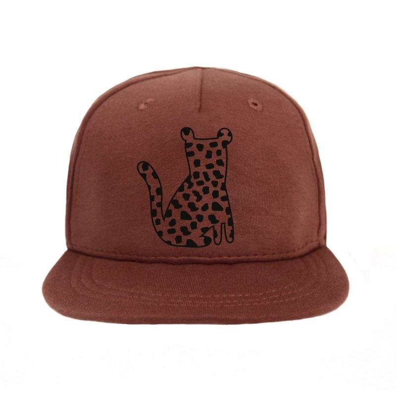 VanPauline BABY CAP WITH LEOPARD PRINT | CHILD HAT WITH PRINT | VANPAULINE