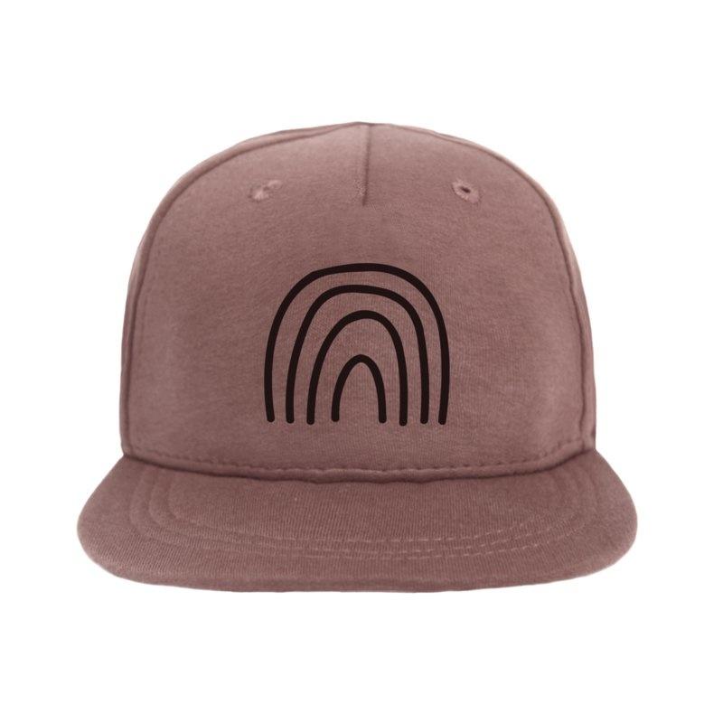 VanPauline BABY CAP WITH RAINBOW PRINT | CHILD HAT WITH PRINT | VANPAULINE