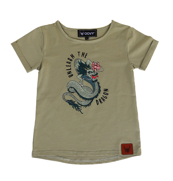Oovy UNLEASH THE DRAGON TEE