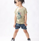 Oovy GREEN T-SHIRT WITH COOL PRINT | GREEN SHIRT WITH PRINT | OOVY