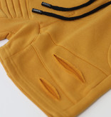 Oovy OCHER SHORTS FOR KIDS | MUSTARD COLORED SHORTS | CHILDREN'S CLOTHING