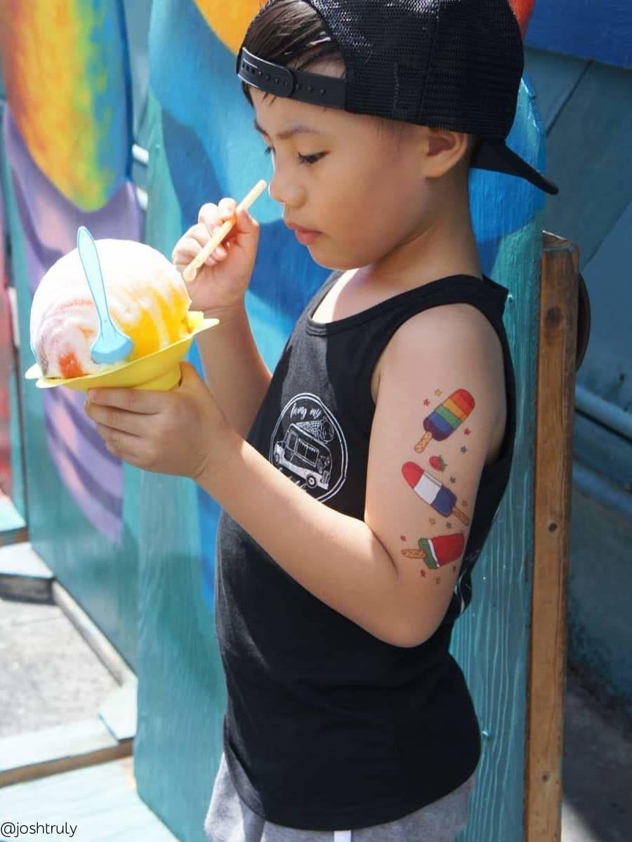 Ducky Street IJSJES TATTOO | TIJDELIJKE TATOEAGES | IJSJES THEMA