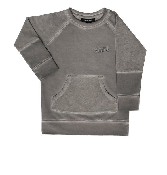 Minikid SWEATSHIRT GREY