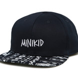 Minikid CHILD HAT WITH PAISLEY PRINT | SNAPBACK FOR CHILDREN