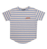 Minikid EXTRA LONG T-SHIRT | BLUE STRIPED SHIRT FOR CHILDREN | MINIKID