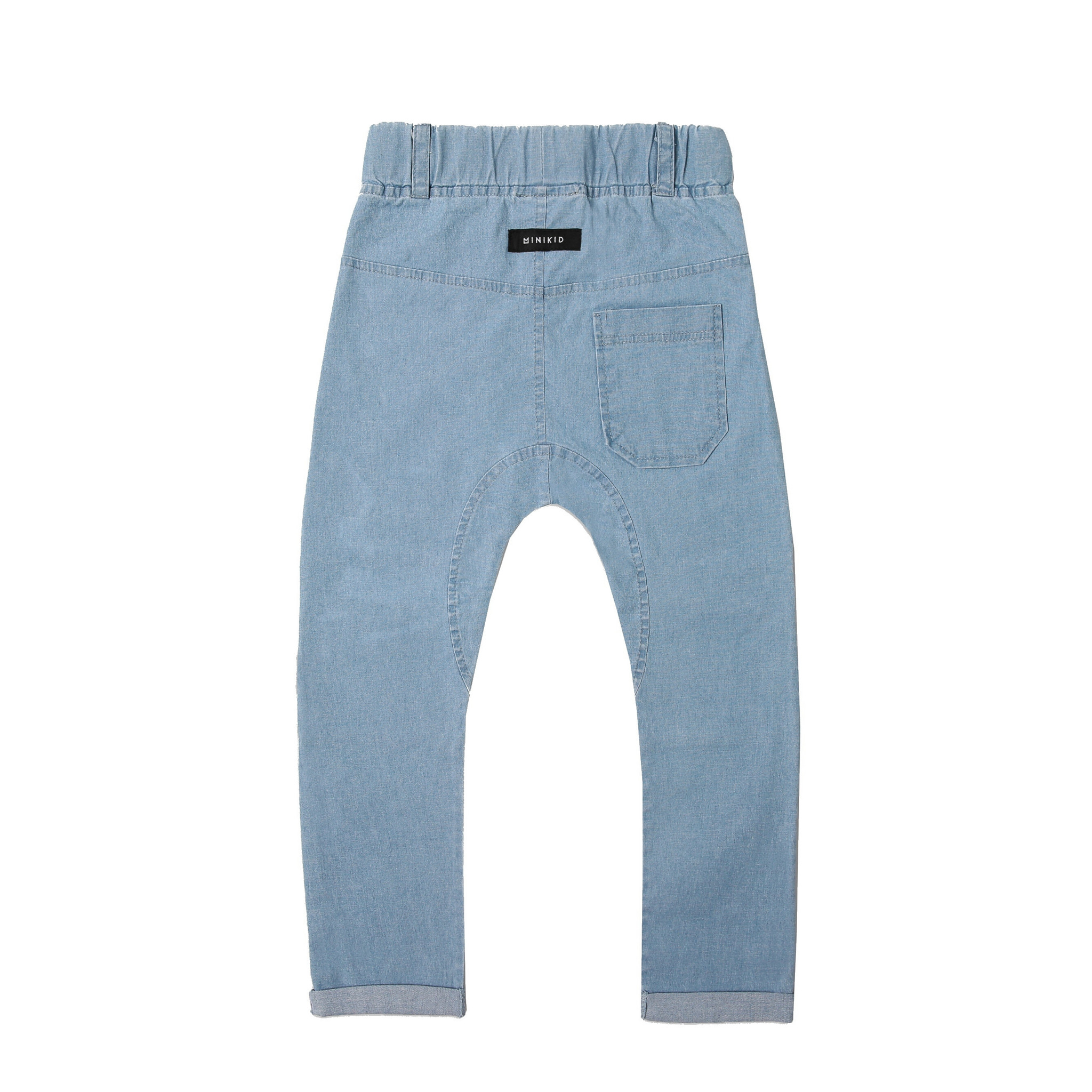 Minikid BLUE COMFORTABLE JEANS | JOGGER WITH WASHING | CHILDREN'S STREETWEAR