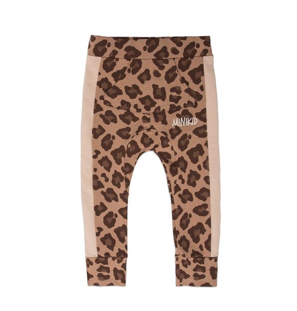 Minikid RELAXED LEOPARD JOGGERS