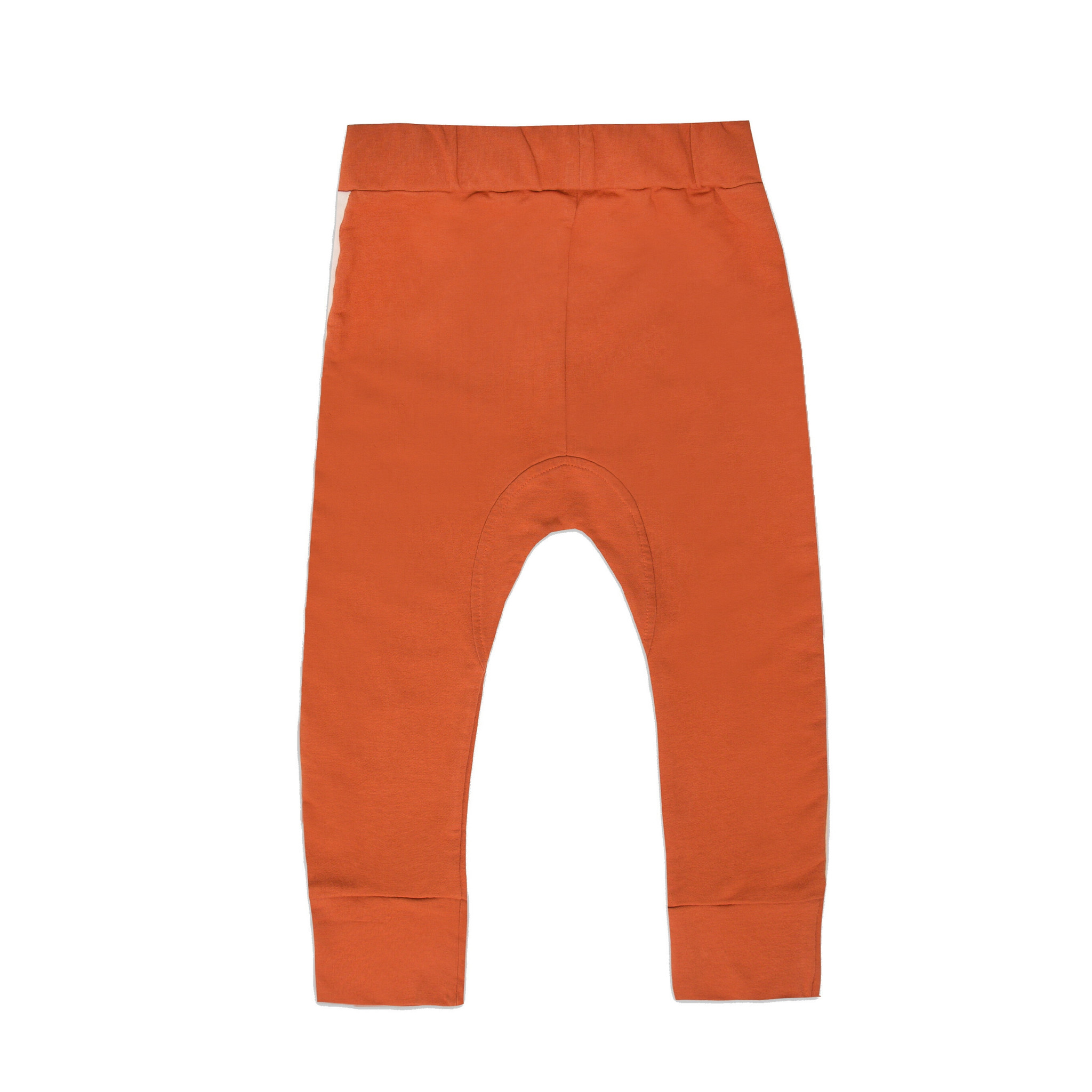 Minikid ORANGE RED JOGGING PANTS | PANTS WITH KANGAROO POCKET | MINIKID
