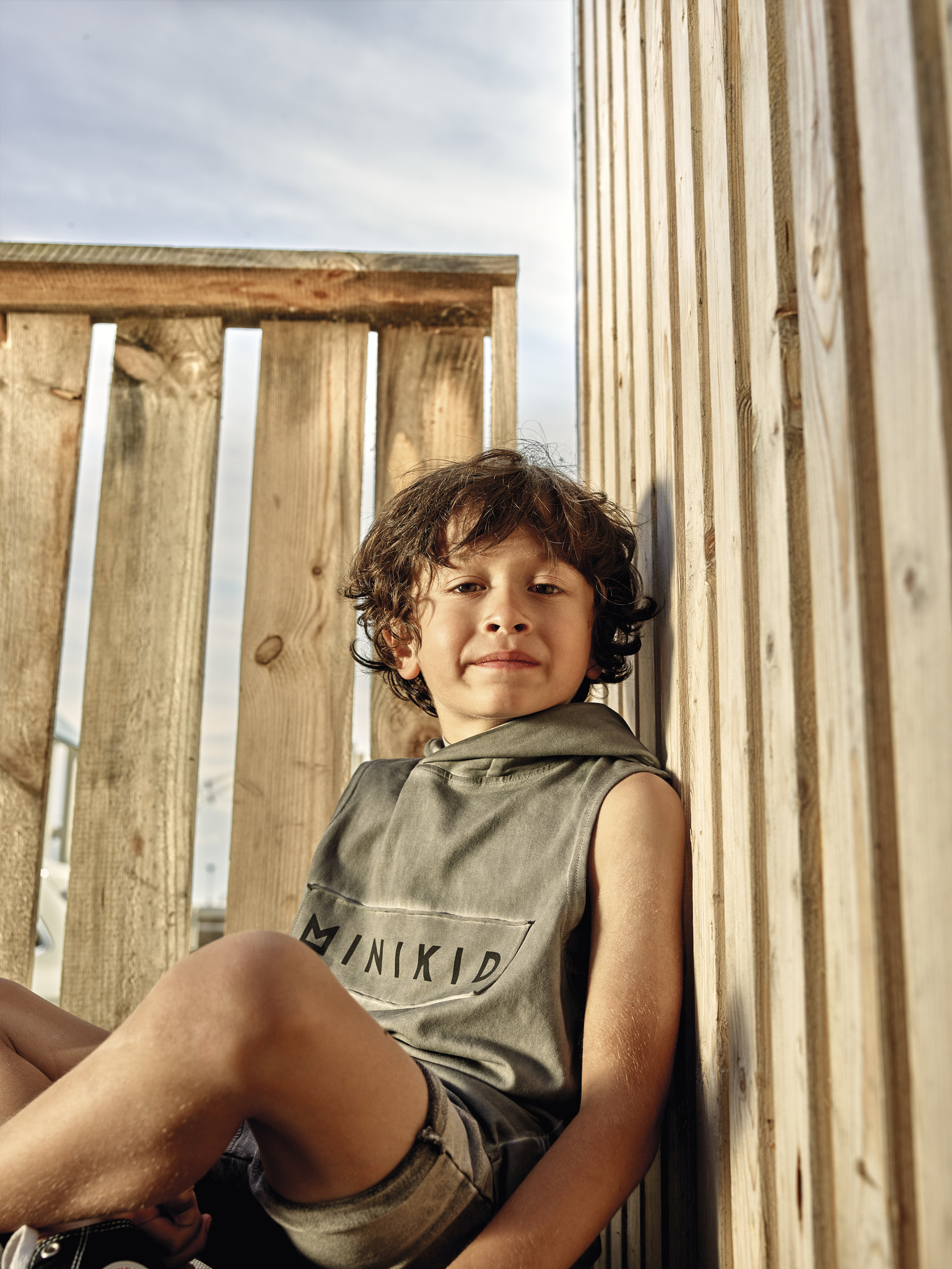 Minikid SLEEVELESS TEE  | HOODIE WITHOUT SLEEVES | MINIKID