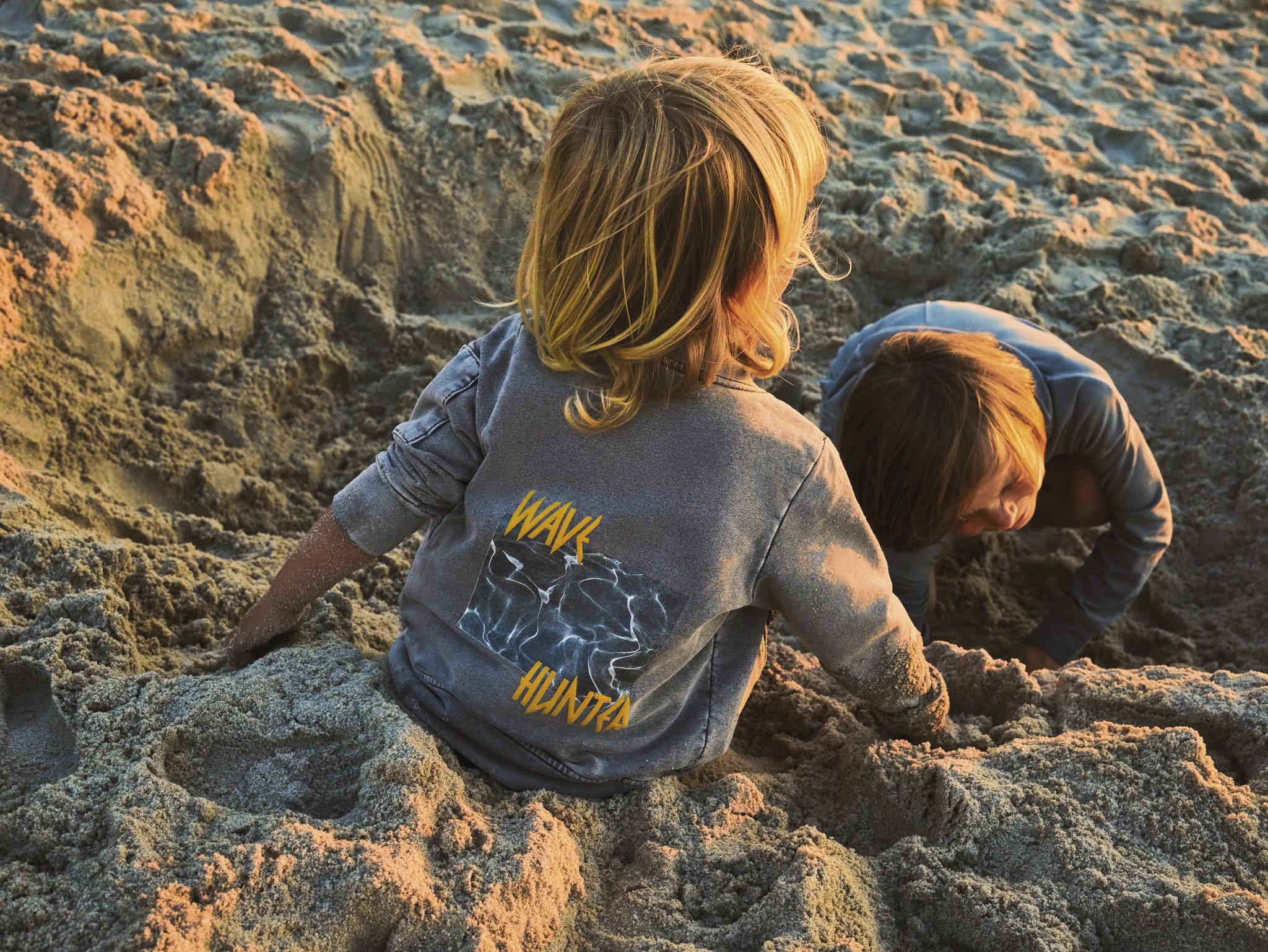Minikid COOL BOMBER JACKET FOR CHILDREN | LONG BOMBER OF SOFT DENIM | MINIKID