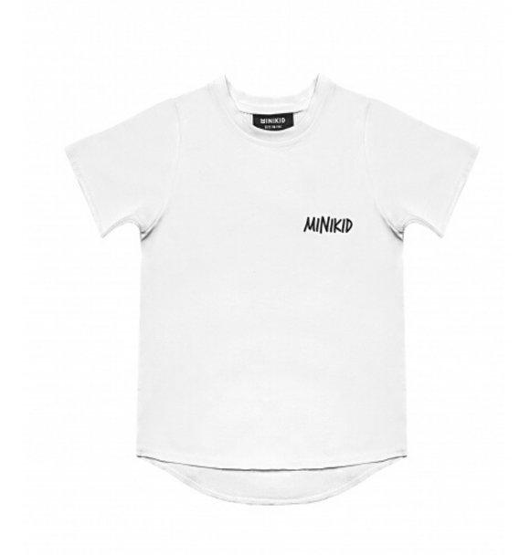 Minikid T-SHIRT CLASSIC WHITE