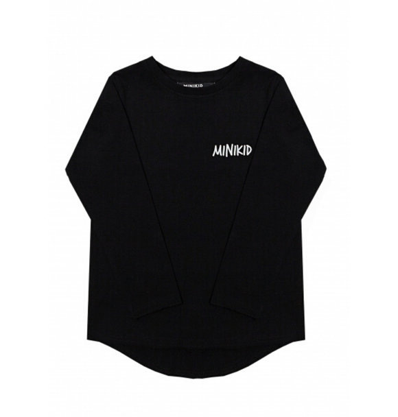 Minikid LONGSLEEVE CLASSIC BLACK