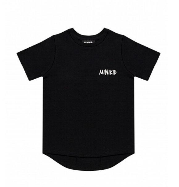 Minikid T-SHIRT CLASSIC BLACK