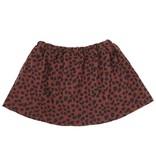VanPauline RED SKIRT FOR GIRLS | SKIRT WITH DOTS PRINT | GIRL CLOTHING