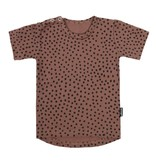 VanPauline PINK SHIRT FOR KIDS | T-SHIRT WITH DOTS PRINT | BABY CLOTHING