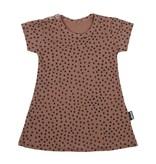 VanPauline PINK GIRL DRESS   DRESS WITH DOTS PRINT   GIRL CLOTHING