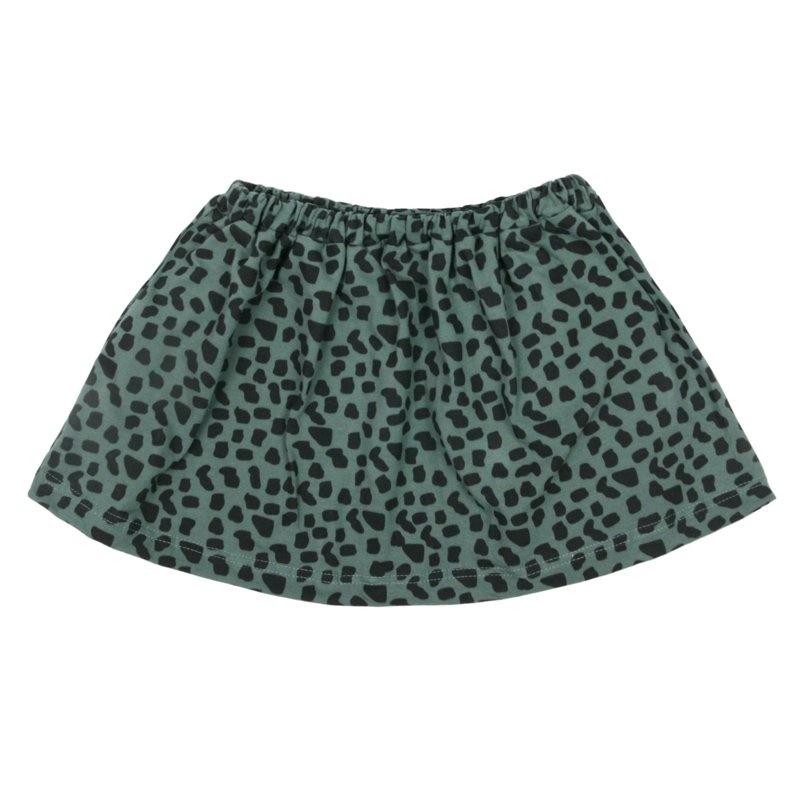 VanPauline SKIRT FOR GIRLS   GREEN SKIRT   BABY CLOTHING