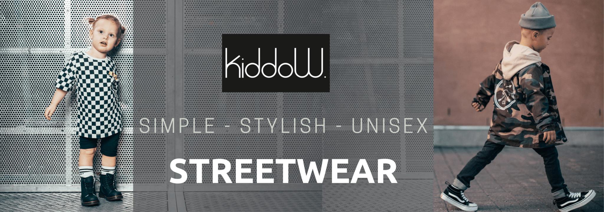 kinderkleding merk Kiddow Streetwear voor kinderen