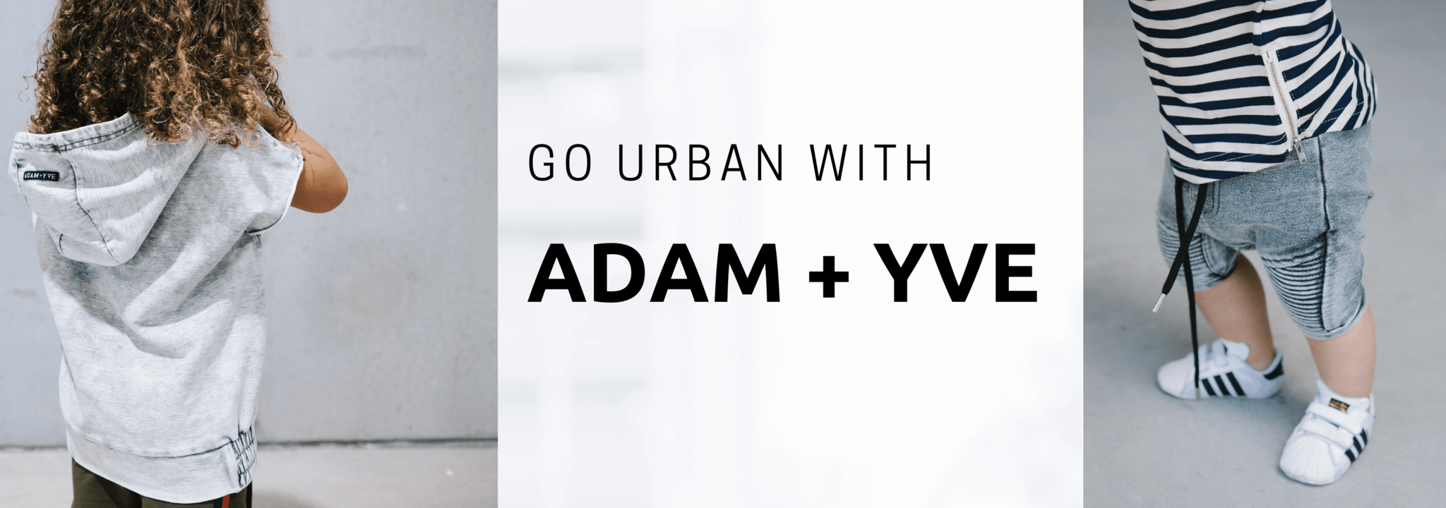 urban streetwear for kids Adam + Yve at Minis Only