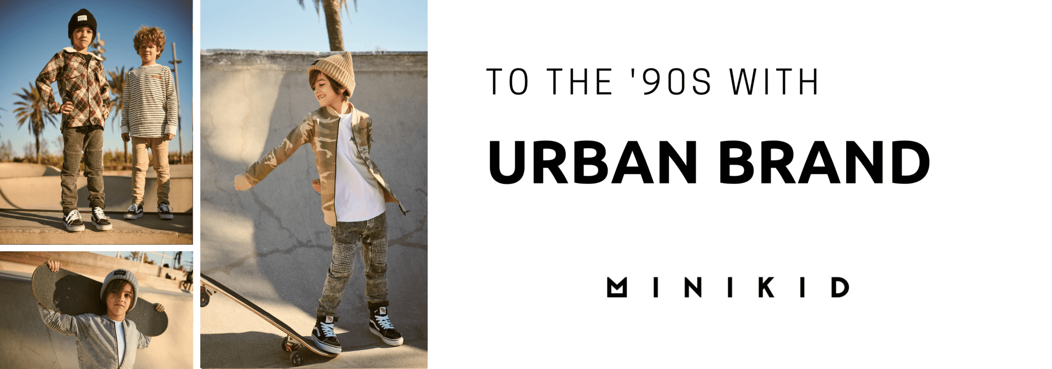 Minikid new urban childrens clothing collection online
