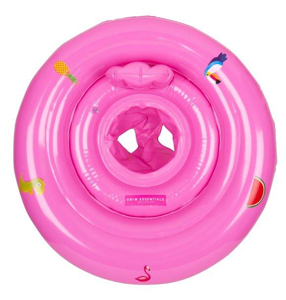 Swim Essentials NEON ROZE BABY ZWEMRING 0-1 JAAR