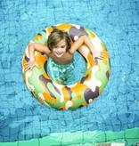Swim Essentials OPBLAASBARE CAMO ZWEMBAND | ZWEMBAND VOOR JONGENS | 6+ JAAR