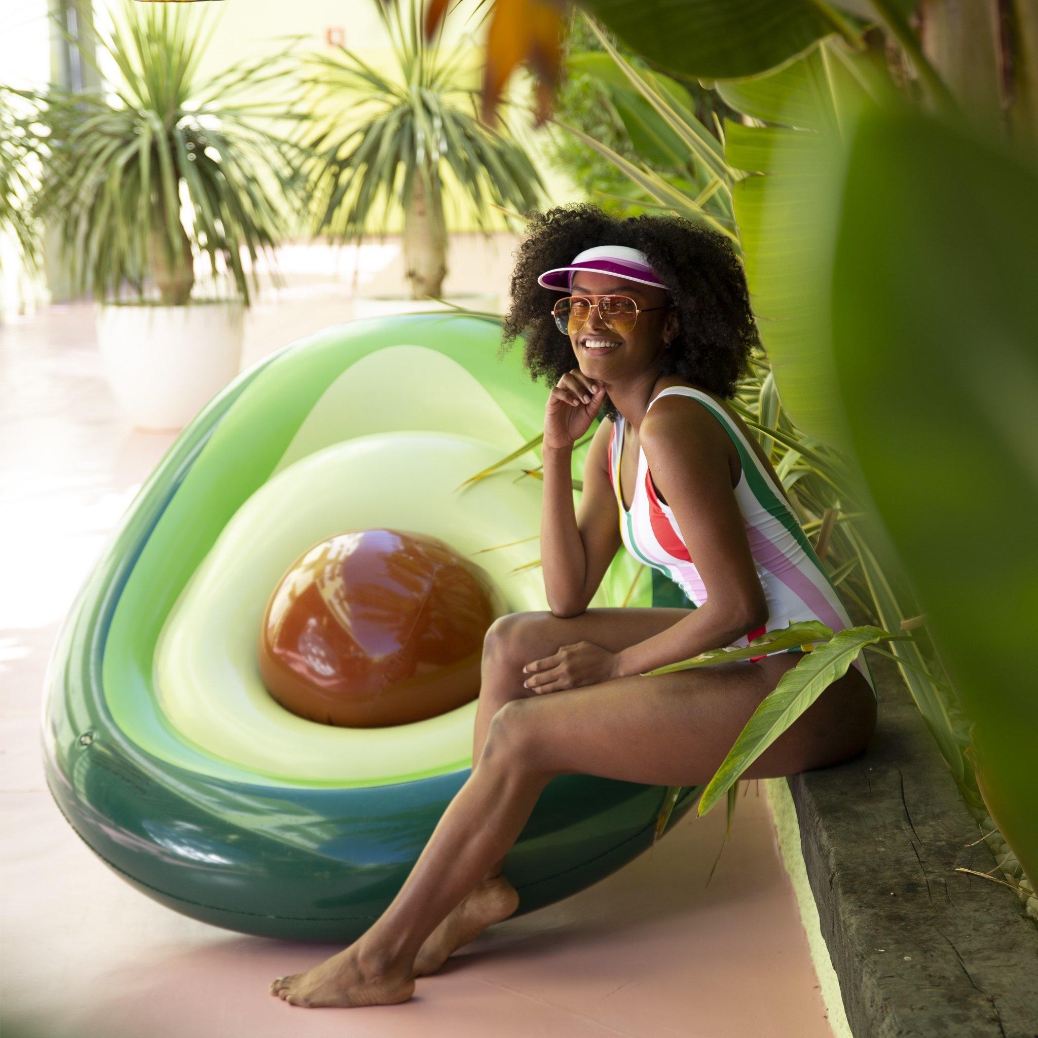 Swim Essentials OPBLAASBARE WATER LUCHTBED | GROOT LUCHTBED | ZWEMBAD SPEELGOED