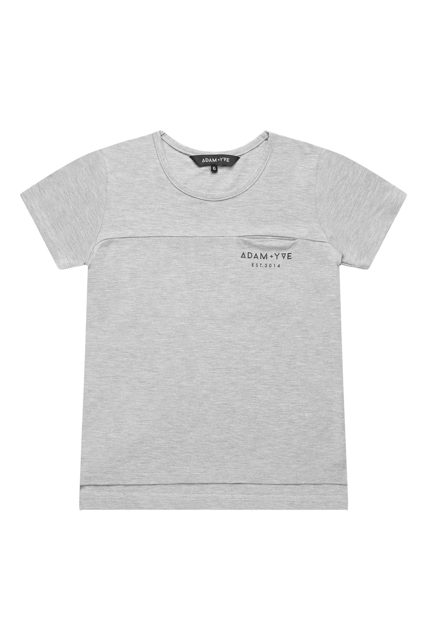 Adam + Yve GRAY T-SHIRT FOR BOYS | COOL SHIRT | CHILDREN'S CLOTHING
