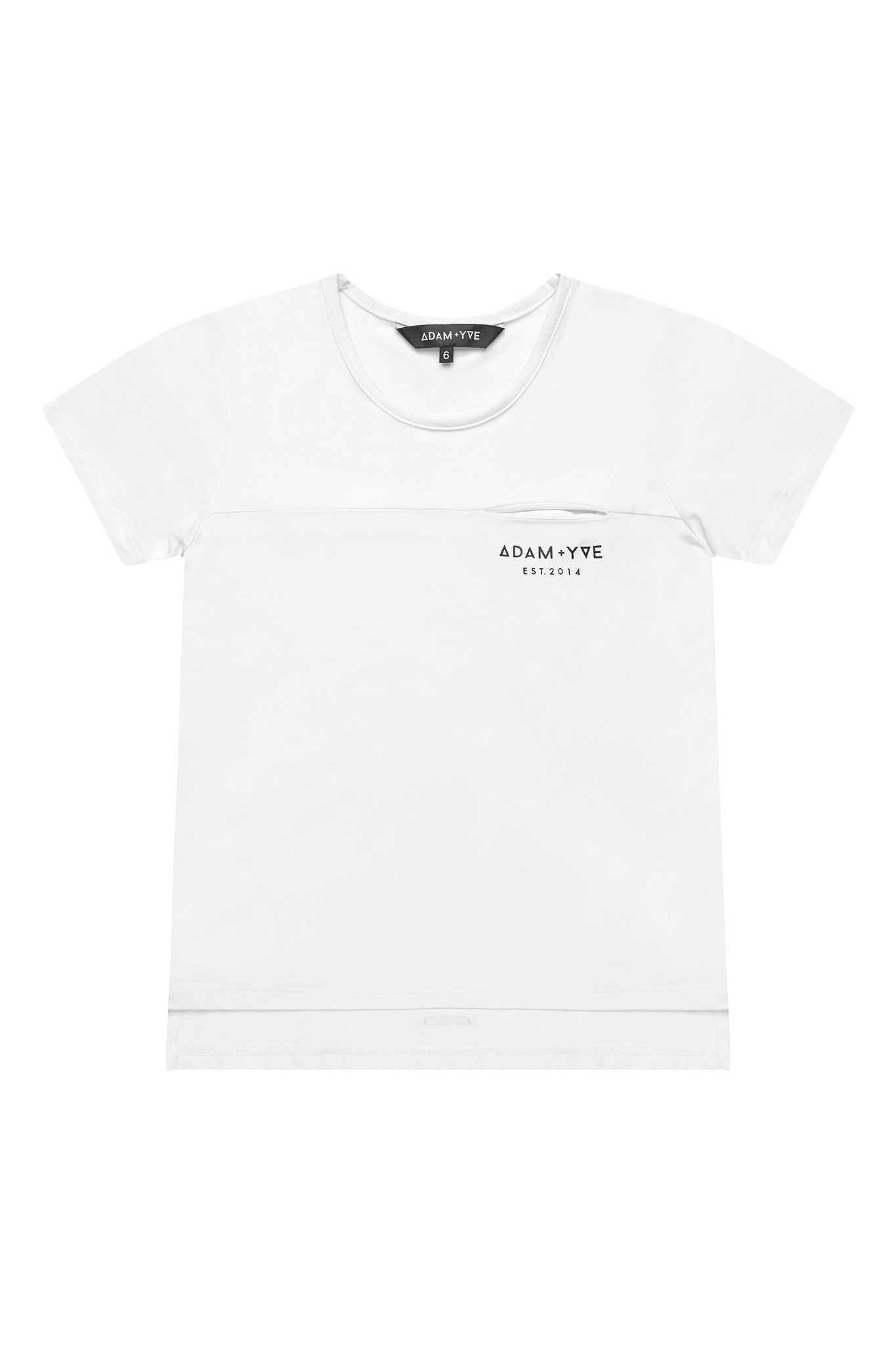 Adam + Yve WHITE T-SHIRT FOR BOYS | COOL SHIRT | CHILDREN'S CLOTHING
