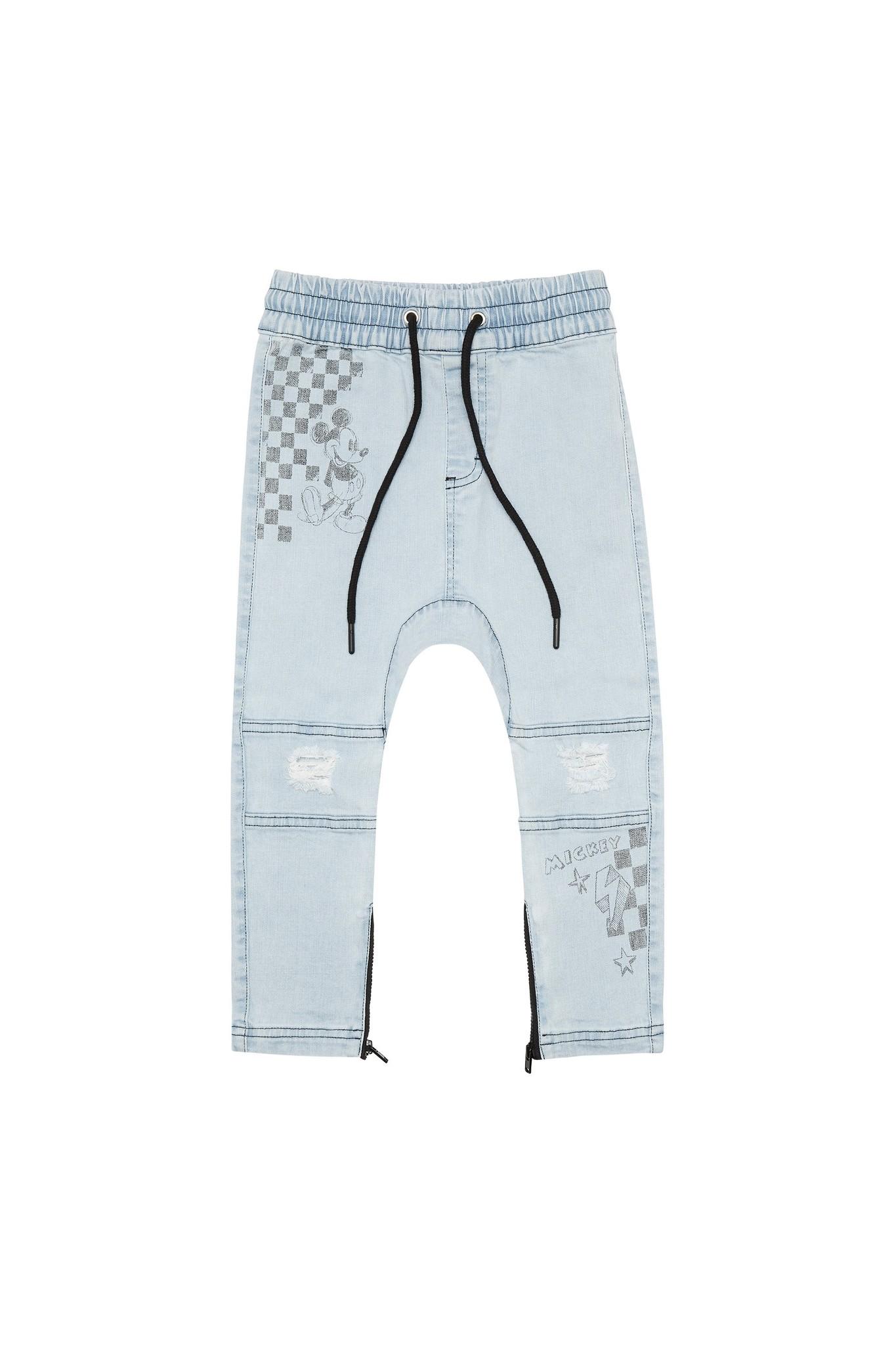 Adam + Yve LIGHT BLUE DROP CROTCH DENIM | JEANS FOR BOYS | CHILDREN'S CLOTHING
