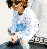 Adam + Yve WHITE SWEATER FOR BOYS TROUSER LONG SWEATER | COOL CHILDREN'S CLOTHING