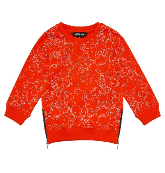 Adam + Yve RED MICKEY JUMPER