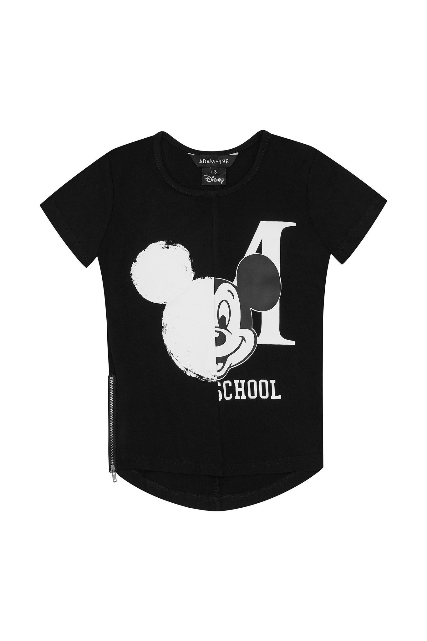 Adam + Yve BLACK BASIC SHIRT FOR BOYS | COOL CLOTHING MICKEY MOUSE | CHILDREN'S CLOTHING