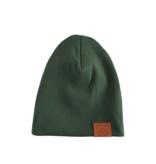 Strojmisie GREEN HAT | CHILDREN HAT OLIVE GREEN | BABY HAT  KHAKI GREEN