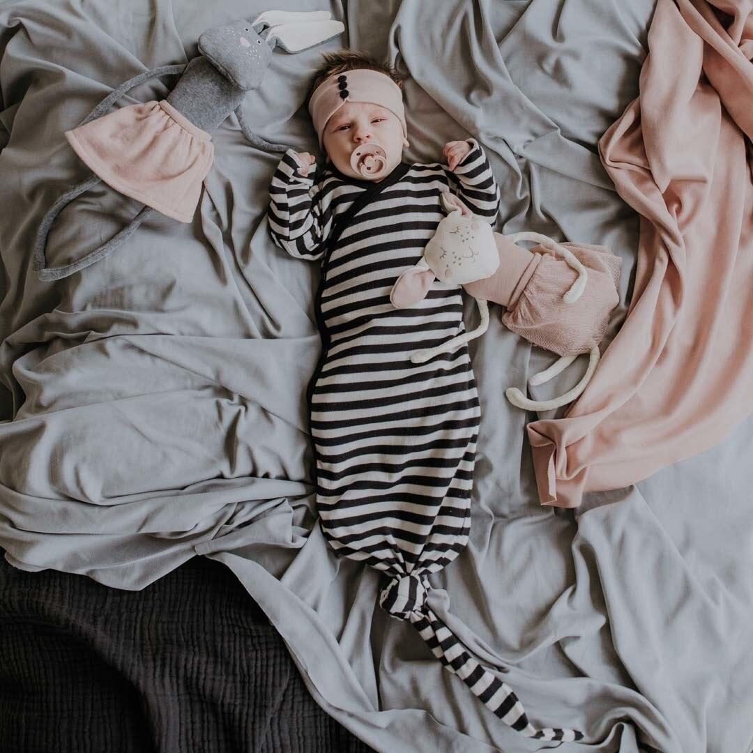 Wooly Organic GEKNOOPTE BABY SLAAPZAK | GEKNOOPTE SLAAPZAK | OKER GELE TRAPPELZAK