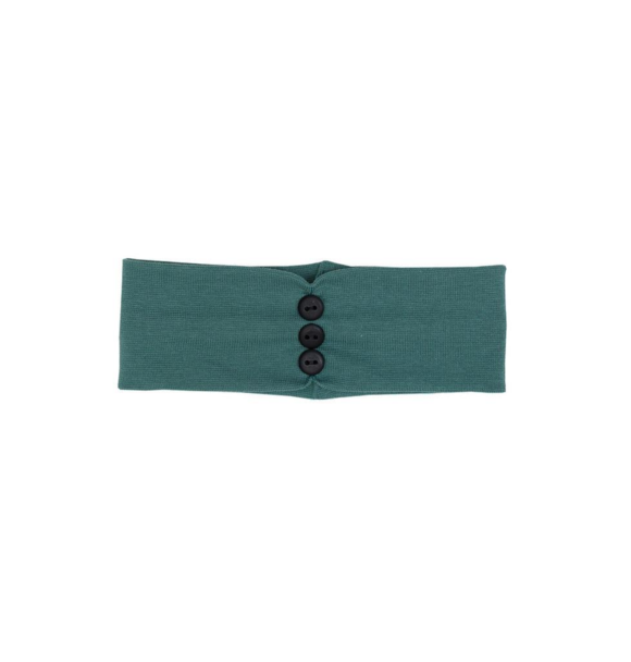 Wooly Organic BABY HEADBAND - SEA GREEN