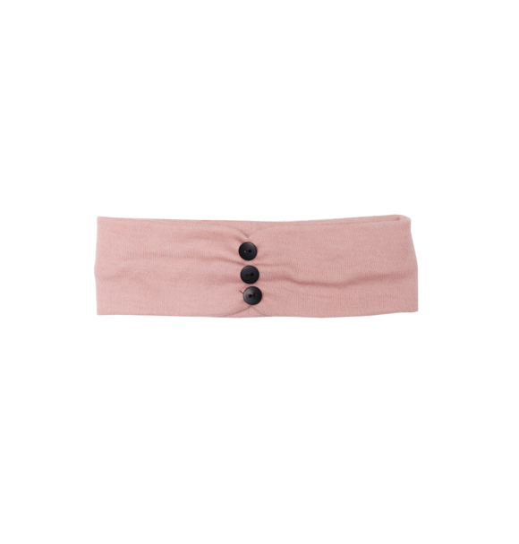 Wooly Organic BABY HAARBAND - DUSTY PINK