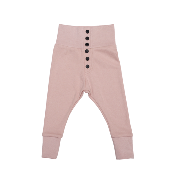 Wooly Organic BABY LEGGING - DUSTY PINK