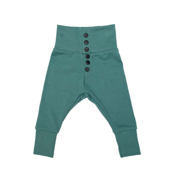 Wooly Organic BABY LEGGING - SEA GREEN