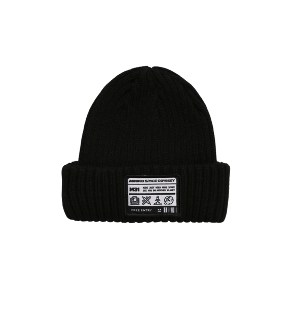 Minikid RIBBED BEANIE BLACK