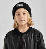 Minikid WARM BLACK BEANIE | BLACK HAT FOR KIDS | COOL CHILDRENS HAT