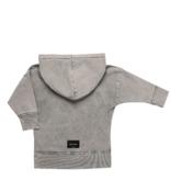 Minikid ACID GREY HOODIE | GREY HOODED SWEATER | KIDS CLOTHING